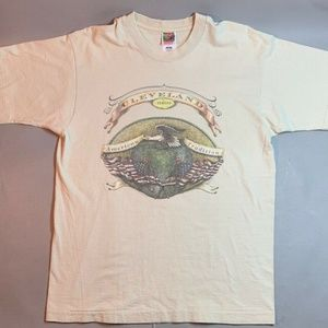 Fruit of the Loom Shirts - Vintage 90's Cleveland Ohio American Tradition T-s
